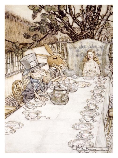 Alice in Wonderland - Madhatter tea party