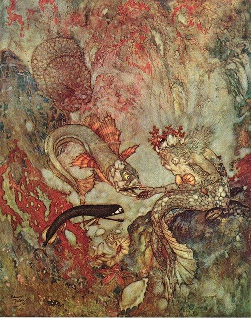 The Little Mermaid / The Merman King