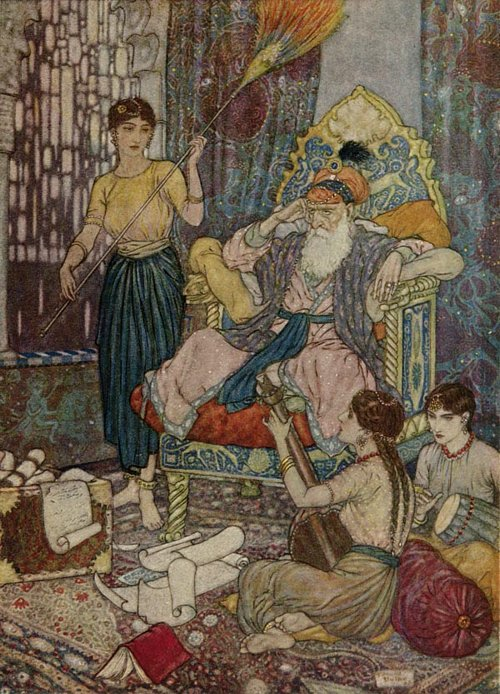 The Rubaiyat / Peace to Mahmud on his golden Throne!