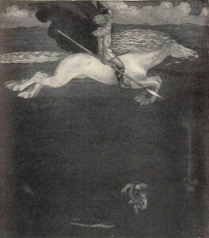 Odin and Slipnir