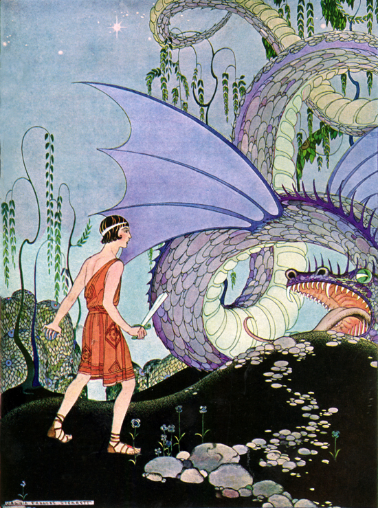 Cadmus Slays the Dragon