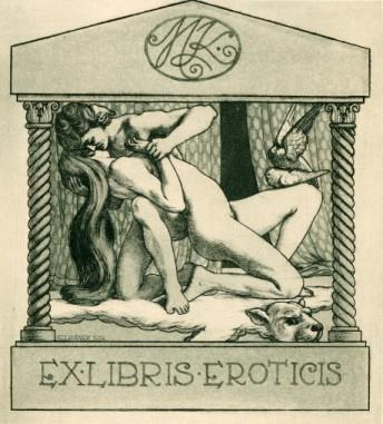 Ex-libris erótico