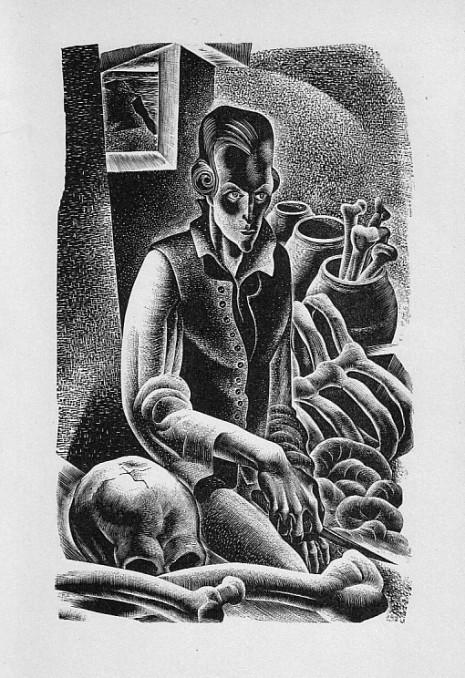 Victor Frankenstein reconsiders making a female monster.