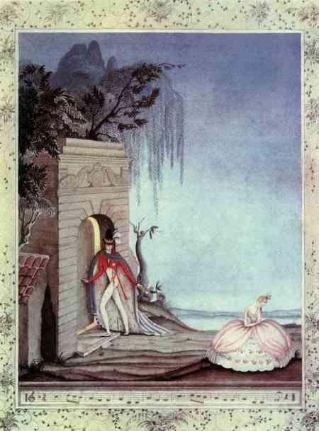 The Swineherd - He shut the door in her face