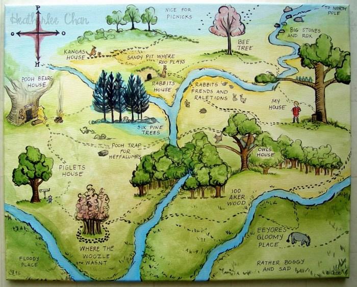 Winnie de Pooh-Bosque de 100 acres