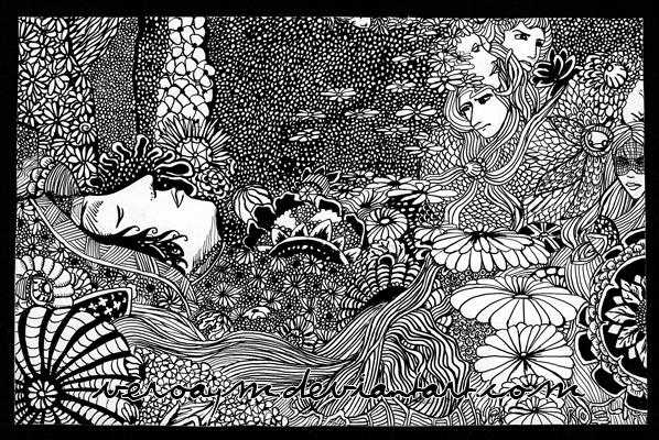 Ilustración-de-Harry-Clarke-para-Morella